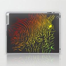 Tiger and zebra Laptop & iPad Skin