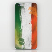 ireland iPhone & iPod Skins featuring Ireland by Fresh & Poppy