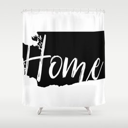 Washington-Home Shower Curtain
