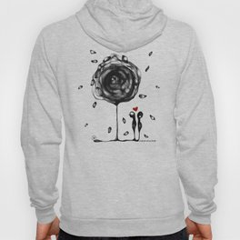 """L'amore accade"" Hoody"
