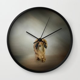 It's Showtime Baby - Dachshund Wall Clock