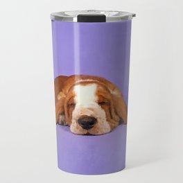 Basset Hound Puppy Travel Mug