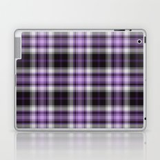 Purple Plaid Laptop & iPad Skin