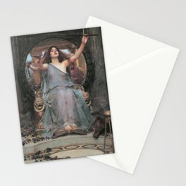 Circe Offering the Cup to Odysseus Stationery Cards