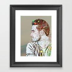 Geometric Liam Framed Art Print
