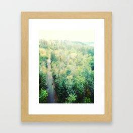 Fake Plastic Trees Framed Art Print