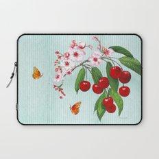 Cherries on Vintage  Laptop Sleeve