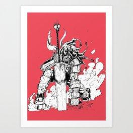 Great Sword Art Print