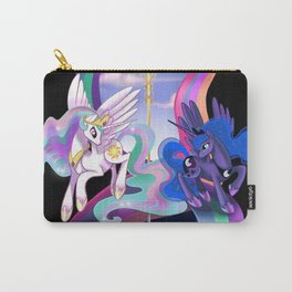 Sun and Moon Sisters Carry-All Pouch