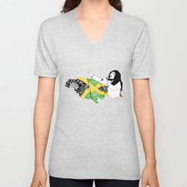 Jamaica -  Freedom Time Unisex V-Neck