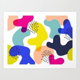 Fluorescent Adolescent Art Print