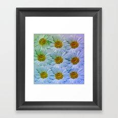 Painterly Daisies Framed Art Print