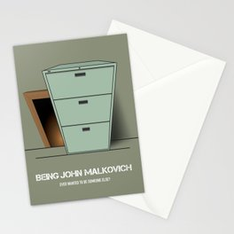 Being John Malkovich - Alternative Movie Poster Stationery Cards