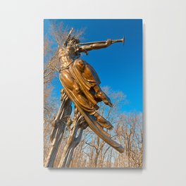 Golden Spirit of Louisiana Metal Print