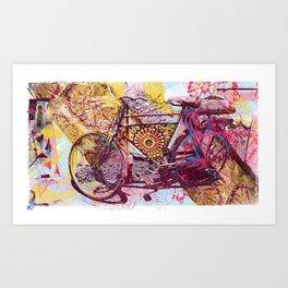 Voyage to Sammarkand Art Print