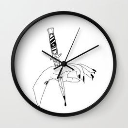 Pricked Wall Clock