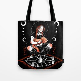 Witch Interrupted Tote Bag