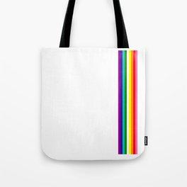 Gay Pride LGBT Subtle Rainbow Stripe Flag 2018 LoveFest Tote Bag