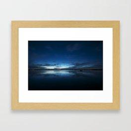 Gloomy Skys Framed Art Print