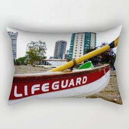 Save Me - English Bay Lifeguard Post Rectangular Pillow