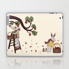 Autumn Apple Picking Laptop & iPad Skin
