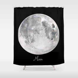 Moon #2 Shower Curtain