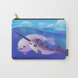 Beluga and Narwhal Carry-All Pouch