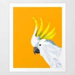 The Cockatoo Art Print