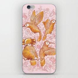 Hector The Lazy Hummingbird iPhone Skin