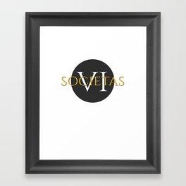 Societas VI Framed Art Print