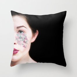 forever repeating Throw Pillow