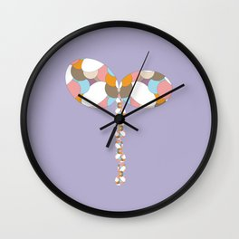 16 E=ButterflyBalloon1 Wall Clock