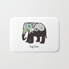 Paisley Elephant - Big Love Bath Mat
