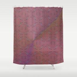 Flex pattern 6 Shower Curtain
