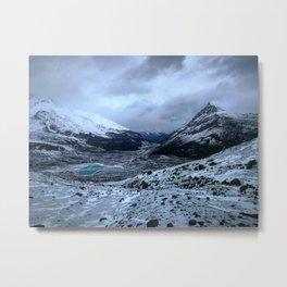 Columbia Icefield Metal Print