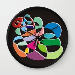 Musical geometry no. 1 Wall Clock