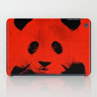 red panda iPad Cases featuring Red Panda by Laura Brightwood