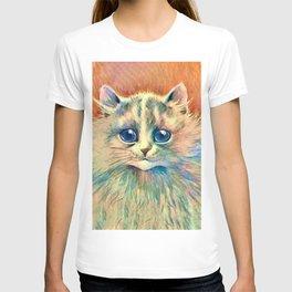 Big Happy Cat - Louis Wain Cats T-shirt