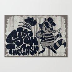 Stash The Cash Canvas Print