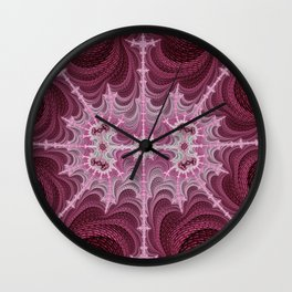 Alien Web Wall Clock