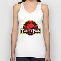 toilet Tank Tops featuring Toilet Park by Toilet Club