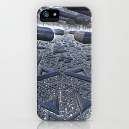 Mirrors festival iPhone Case
