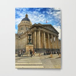 Pantheon, Paris, France Metal Print