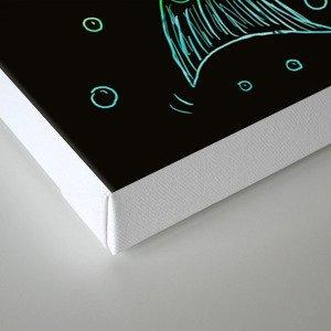 Mermaid In The Dark Canvas Print