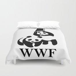 WWF Parody Duvet Cover