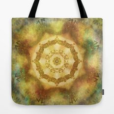 Tribal Mandala Tote Bag