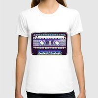 tape T-shirts featuring Mix Tape # 10 by Bianca Green