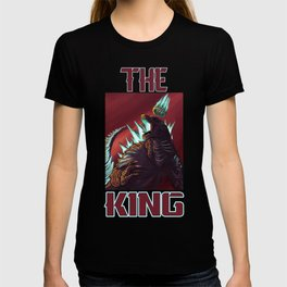 The King (with text) T-shirt