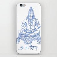 shiva iPhone & iPod Skins featuring SHIVA by Only Vector Store - Allan Rodrigo