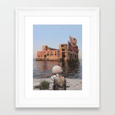 Empty Palace (Trump) Framed Art Print